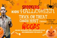 Image for event: Kids Halloween Trick Candy Treat Hunt through 'The Woods'