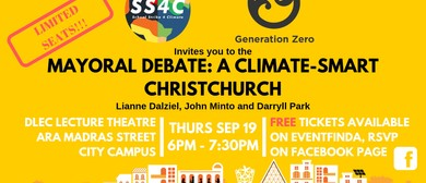 Mayoral Debate: a Climate-Smart Christchurch