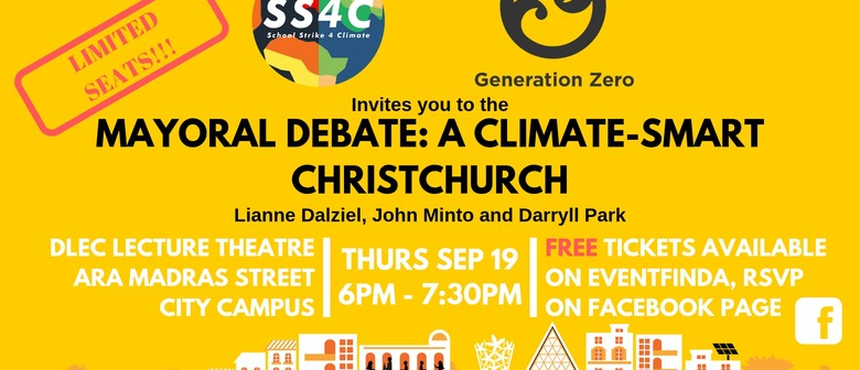Mayoral Debate: a Climate-Smart Christchurch