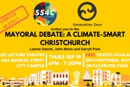 Image for event: Mayoral Debate: a Climate-Smart Christchurch
