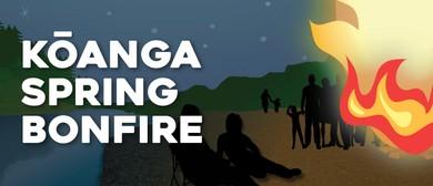 Kōanga Spring Bonfire