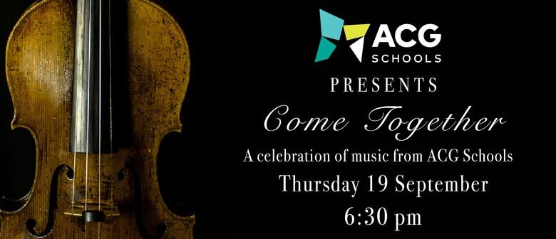 ACG Schools presents Come Together