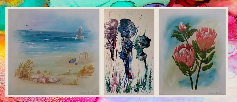 CMA4: Creative Acrylics with Catherine Mitchell