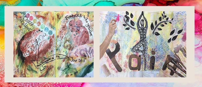 JHA4: Art Journaling with Jude Howker