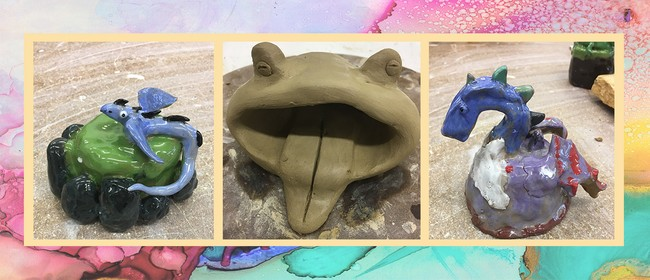 JLC4: Clay Sculpture Creatures with Jean Lonergan