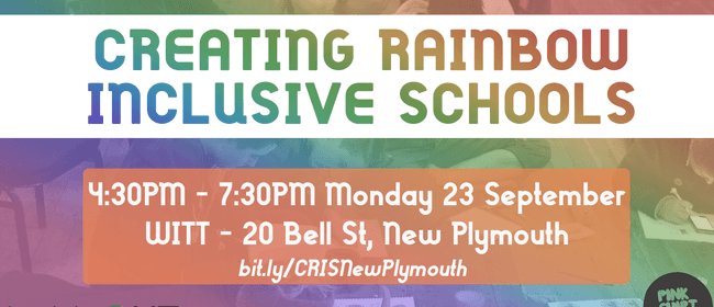 Creating Rainbow Inclusive Schools Workshop