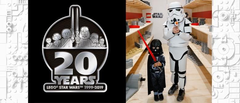 Celebrate 20 Years of LEGO® Star Wars