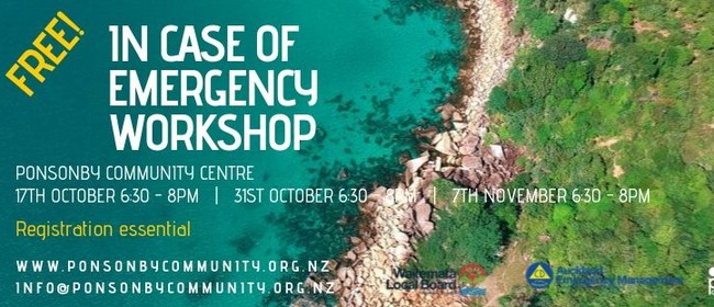 In Case of Emergency Workshop
