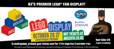 Auckland Brick Show 2019 - NZ's Premier LEGO® Fan Display