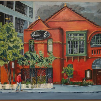 Auckland City Streetscapes - Marcia Soanes