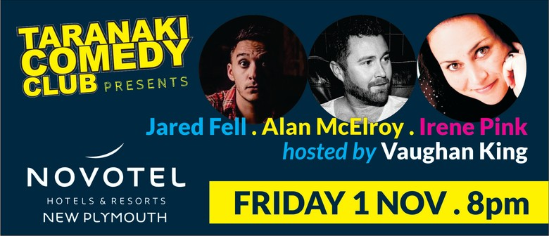 Taranaki Comedy Club - November 2019