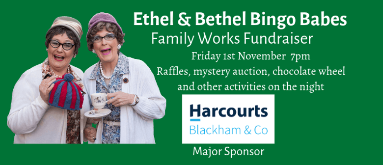 Ethel & Bethel Bingo Night Fundraiser for Family Works