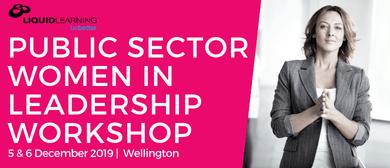 Public Sector Women in Leadership Workshop