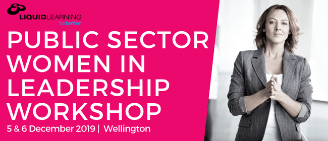 Public Sector Women in Leadership Workshop