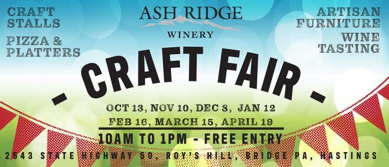 Ash Ridge Winery Craft Fair