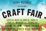 Ash Ridge Winery Craft Fair