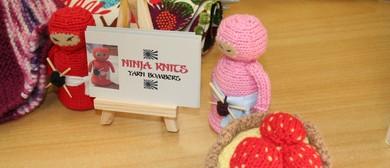 Ninja Knits - Arty Yarn Bombers