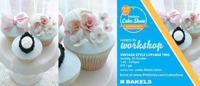 Vintage Cupcake Class - Pettinice Cake Show 2019