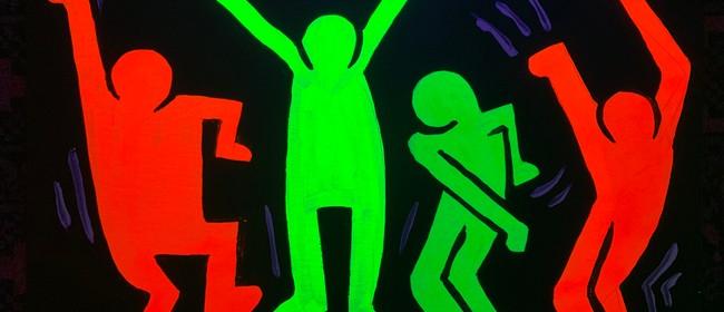 Glow In The Dark Paint Night – Boogie – Paintvine