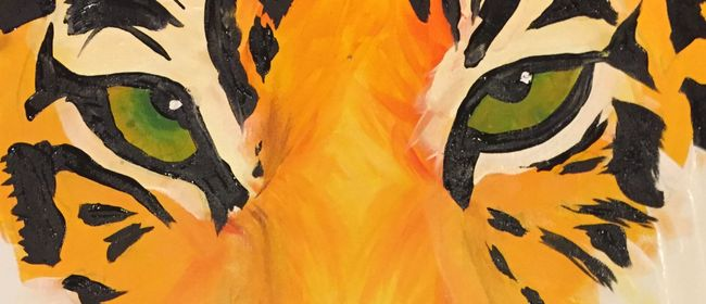 Paint and Wine Night – The Tiger – Paintvine