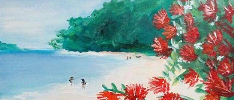Paint and Wine Night - Summer in NZ - Paintvine