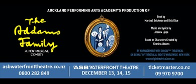 APAA's Production of The Addams Family