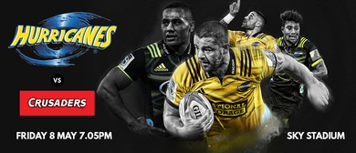 Hurricanes v Crusaders: CANCELLED
