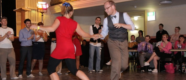 Free Swing Dancing Lesson and Live Music By Sideline Swing
