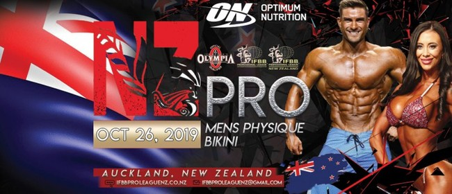 IFBB Pro League NZ Nationals / Pro Championships 2019