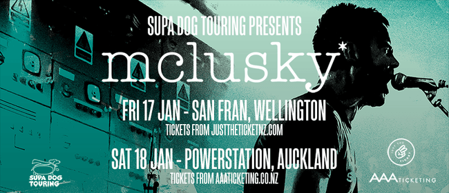 mclusky* - New Zealand Tour