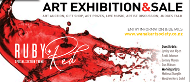 Wanaka Arts -  Art Exhibition and Sale -  Opening Night