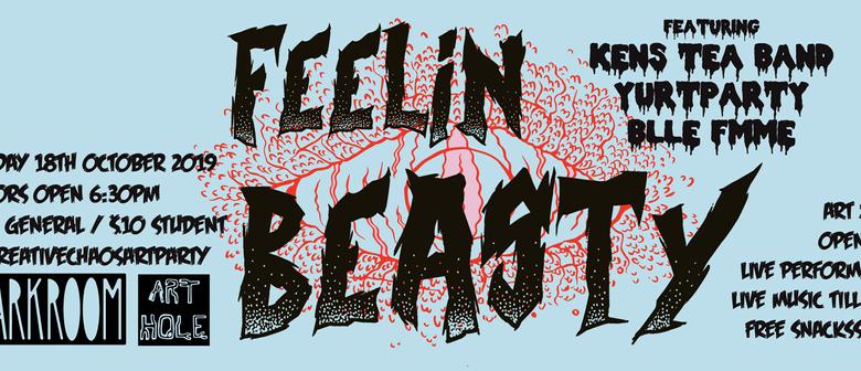 Feelin Beasty! Creative Chaos Art Party
