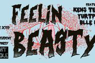 Image for event: Feelin Beasty! Creative Chaos Art Party