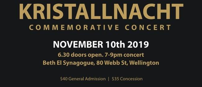 Kristallnacht Commemorative Concert