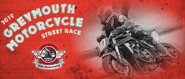 30th Anniversary Greymouth Motorcycle Street Race