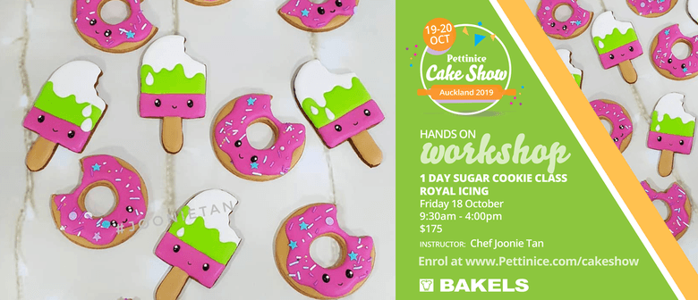Full Day Sugar Cookie Class With Chef Joonie Tan