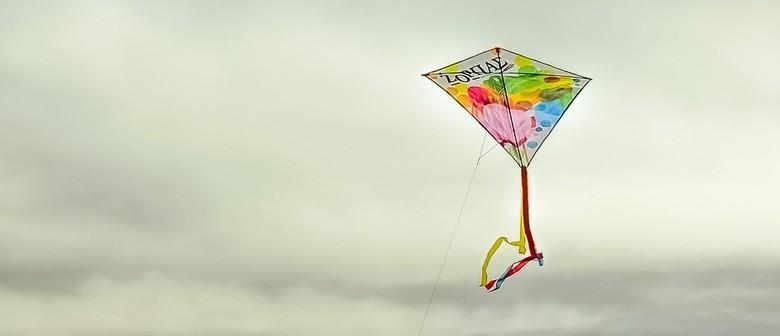 Kids and Their Grownups: Kite Making - Julie Adam