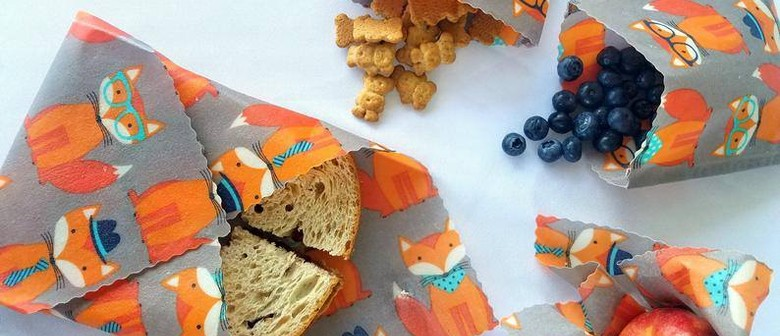 Kids & Their Grownups Do Christmas: Beeswax Wraps!