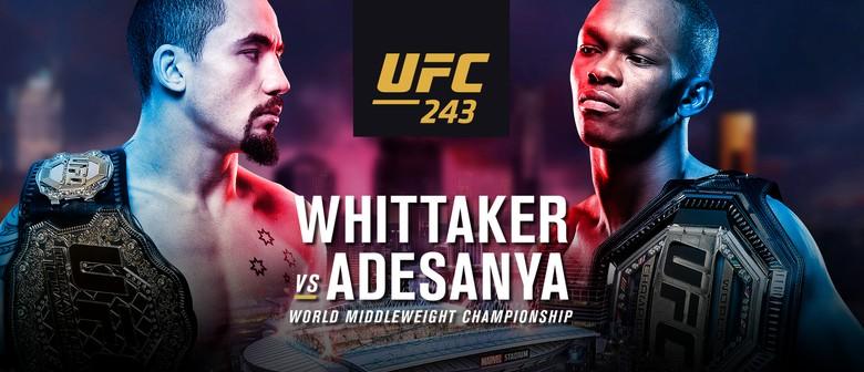UFC243 Live