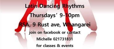 Latin Dancing Rhythms
