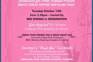 Image for event: Pink Ladies Cocktails & Canapes Event