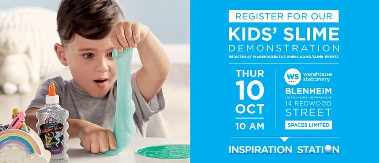 Kids Slime Demonstration
