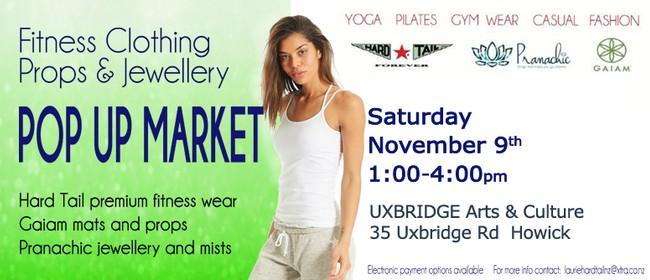 Women's Fitnesswear, Props and Jewellery Popup Market