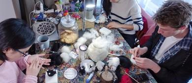 Make a Needle Felt Wool Fairy Figurine Handcrafts