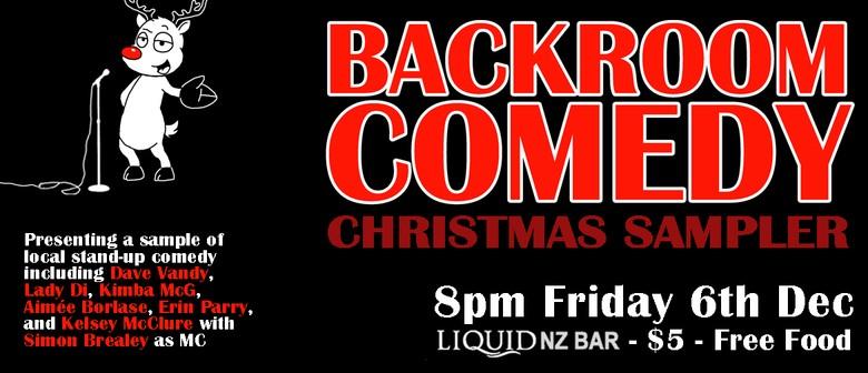 Backroom Comedy Christmas Sampler