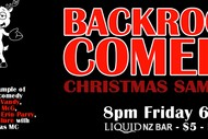 Image for event: Backroom Comedy Christmas Sampler
