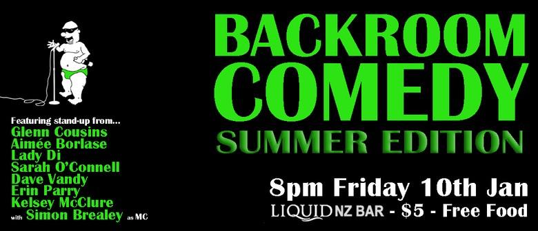 Backroom Comedy Summer Edition