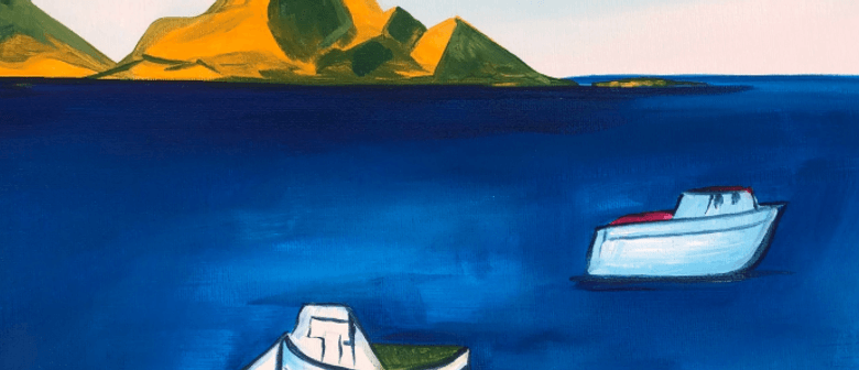 Paint and Wine Night – Rita Angus' Boats – Paintvine