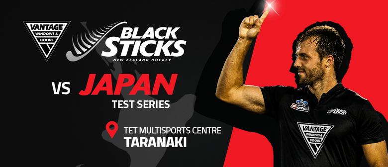Vantage Black Sticks vs Japan Test Series