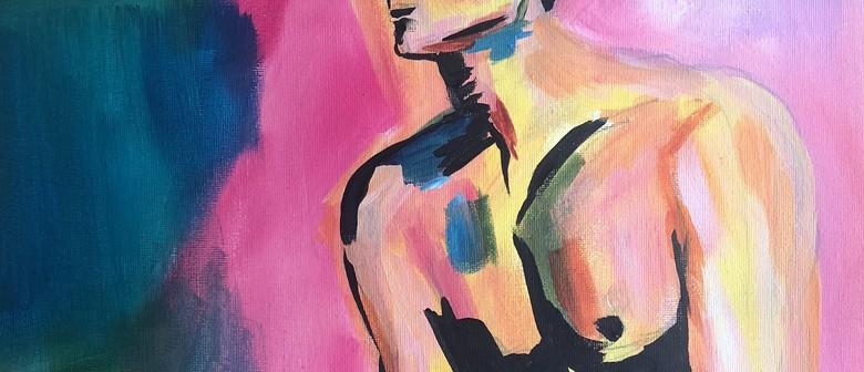 Paint and Wine Night - Female Gaze - Paintvine